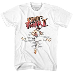 Street Fighter - Mens Roundhouse T-Shirt