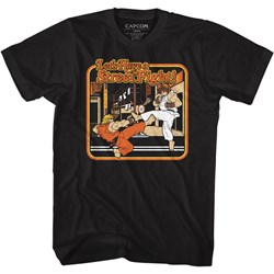 Street Fighter - Mens Storybook Style T-Shirt