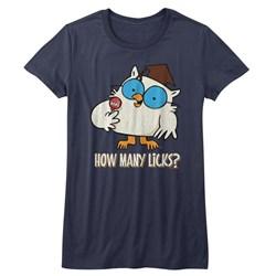Tootsie Roll - Womens Many Licks T-Shirt