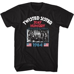 Twisted Sister - Mens Stayhungry T-Shirt