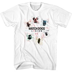 Watchdogs - Mens Squares T-Shirt