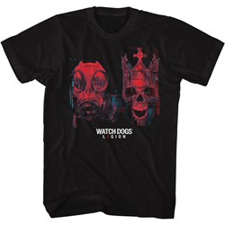 Watchdogs - Mens Gas And Skull T-Shirt