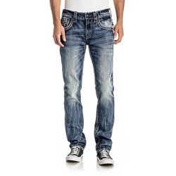 Rock Revival - Mens Goyer A200 Alternative Straight Jeans