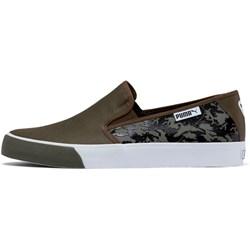 Puma - Mens Bari Slip On Camo Shoes