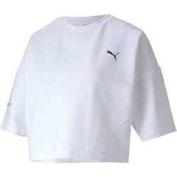 Puma - Womens Evide Form Stripe Crop T-Shirt