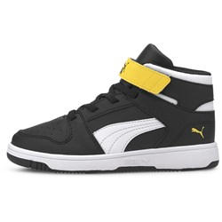 PUMA - Unisex-Baby Puma Rebound Layup Sl with Fastner Pre-School Shoes