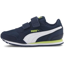 PUMA - Unisex-Baby St Runner V2 Mesh Shoes with Fastener Strap