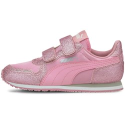 PUMA - Unisex-Baby Cabana Racer Glitz with Fastner Pre-School Shoes