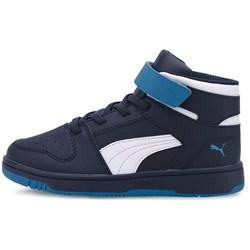 PUMA - Unisex-Baby Puma Rebound Layup Sl with Fastner Pre-School Shoes
