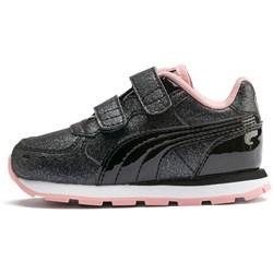 PUMA - Unisex-Baby Vista Glitz with Fastner Shoes
