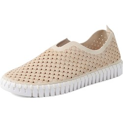 Ilse Jacobsen - Womens Tulip White Sole Slip on Shoes