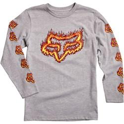 Fox - Unisex Youth Flame Head T-Shirt