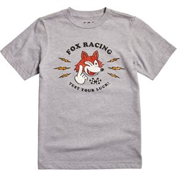 Fox - Unisex Youth Test Your Luck T-Shirt