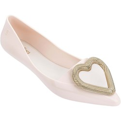 Melissa - Womens Pointy Heart Ad Flats