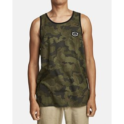 RVCA - Mens Boar Hunt Cam Tank-Top