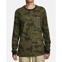 RVCA - Mens Boar Hunt Cam Long Sleeve T-Shirt