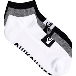Quiksilver - Mens 3Ankle Pack Ankle Socks