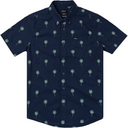 Rvca - Boys Thatll Do Print Short Sleeve Woven Shirt