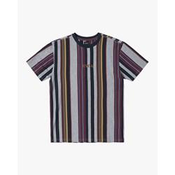 Rvca - Mens Cairo Vertical Short Sleeve Crew T-Shirt