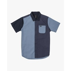 RVCA - Boys Blocked Crushed Woven Shirt