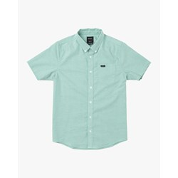 Rvca - Boys Thatll Do Stretch Short Sleeve Woven Shirt