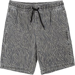 Rvca - Boys Escape Elastic Print Shorts