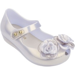 Melissa - Unisex-Child Mini Ultragirl Flower Bb Flats