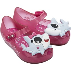 Melissa - Unisex-Child Mini Utragirl Shark Bb Flats