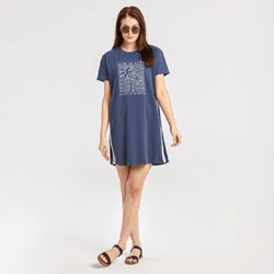 Life Is Good - Womens Keep It Simple Palm Trees Crusher T-Shirtdress