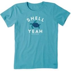 Life Is Good - Womens Shell Yeah Crusher T-Shirt