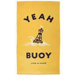 Life Is Good - Unisex Yeah Buoy Beach Towel