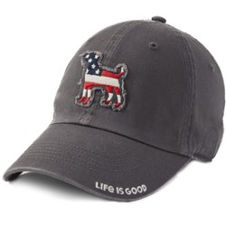 Life Is Good - Unisex Americana Dog Tattered Chill Cap