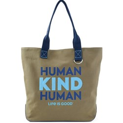 Life Is Good - Unisex Human Kind Way More Wayfarer Tote