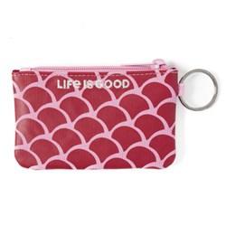 Life Is Good - Unisex Scale Pattern Wayfarer Wallet