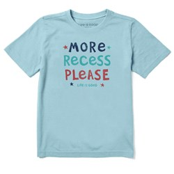 Life Is Good - Boys More Recess Please Ss T-Shirt