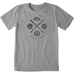 Life Is Good - Boys Sports Addict Ss T-Shirt