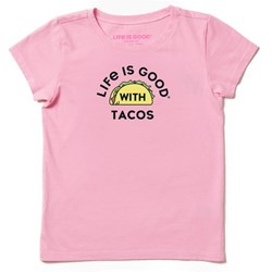 Life Is Good - Girls Lig Tacos Ss T-Shirt
