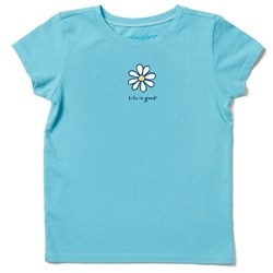Life Is Good - Kids Lig Daisy Vintage Crusher T-Shirt