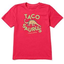 Life Is Good - Kids Tacosaurus Crusher T-Shirt