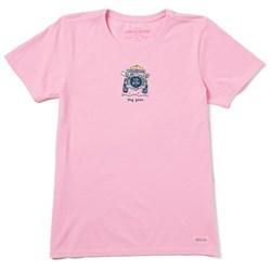Life Is Good - Womens Rocket Dog Gone Vintage Crusher T-Shirt