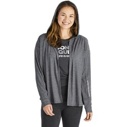 Life Is Good - Womens Fueled By Positive Energy Marled Supreme Blend Hoodie