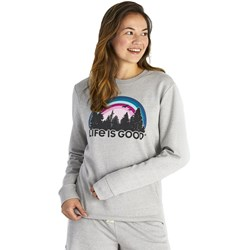 Life Is Good - Womens Funky Outdoor Simply True Crew
