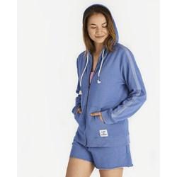Life Is Good - Womens Vintage Blue Hoodie Simply True Zip Hoodie