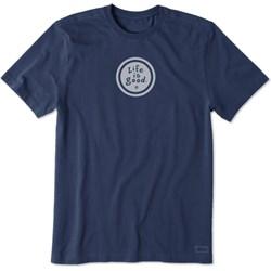 Life Is Good - Mens Lig Vintage Coin Vintage Crusher T-Shirt