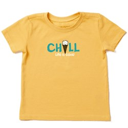 Life Is Good - Baby Chill Ice Cream Ss Toddler T-Shirt