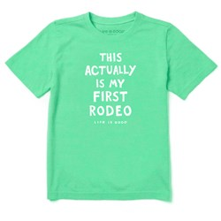 Life Is Good - Baby Not My First Rodeo Ss Toddler T-Shirt