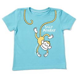 Life Is Good - Baby Silly Monkey Ss Toddler T-Shirt
