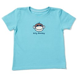 Life Is Good - Kids Silly Monkey Vintage Crusher T-Shirt