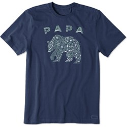 Life Is Good - Mens Primal Bear Crusher T-Shirt