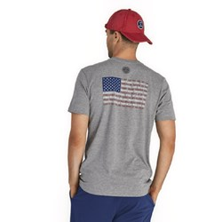 Life Is Good - Mens Star Spangled Banner Flag Crusher T-Shirt